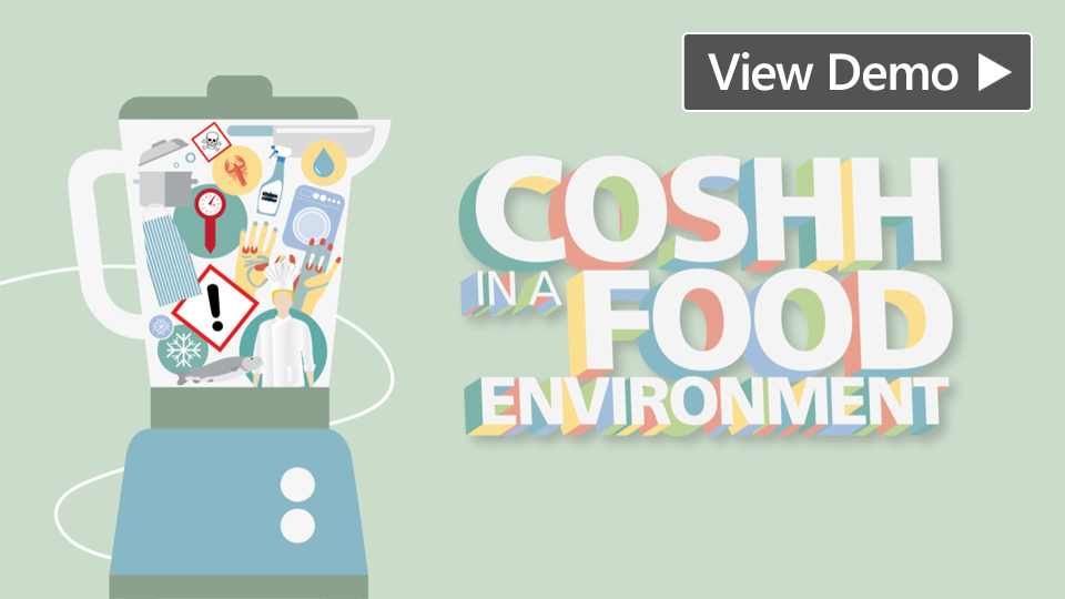 COSHH in a Food Environment