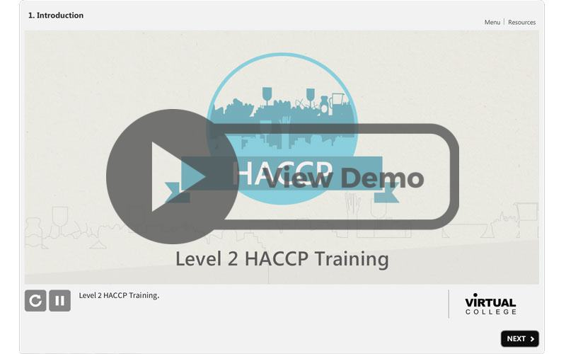Level 2 Haccp Course Cpd Food Safety Certified Online Training