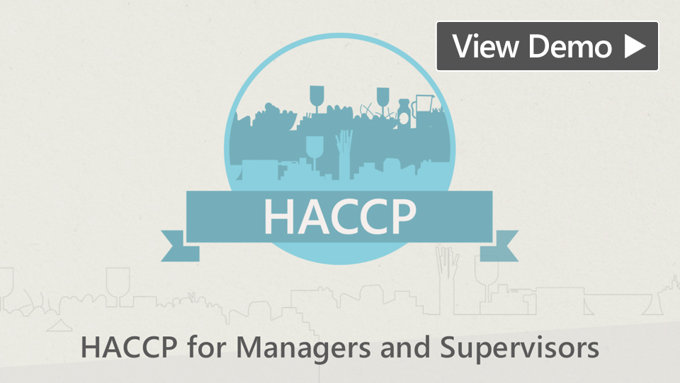 HACCP for Supervisors and Managers